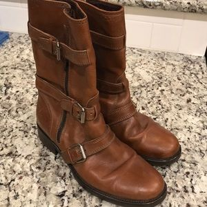 Leather Jcrew boots